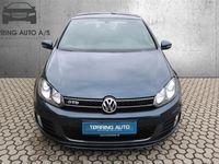 brugt VW Golf 2,0 TDI DPF GTD 170HK 3d - Personbil - blå