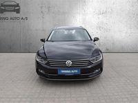brugt VW Passat Variant 2,0 TDI BMT Highline Plus DSG 150HK Stc 6g Aut. - Personbil - Sortmetal