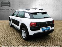 brugt Citroën C4 Cactus 1,2 PureTech Feel 82HK 5d - Personbil - Hvid