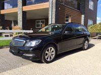 brugt Mercedes C200 C-ClassCDI BlueEFFICIENCY T aut 5d