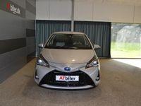 brugt Toyota Yaris 1,5 B/EL H3 Smartpakke E-CVT 100HK 5d Trinl. Gear A+++