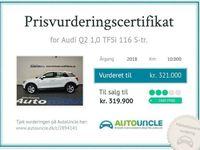 brugt Audi Q2 1,0 TFSi 116 S-tr.