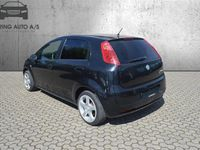 brugt Fiat Grande Punto 1,3 JTD Active 75HK 5d - Personbil - sort