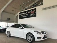 brugt Mercedes C220 2,2 CDi AMG Line Coupé aut.