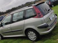 brugt Peugeot 206 SW 1,4 HDI 70HK Stc