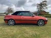 brugt Peugeot 306 Cabriolet 2,0 16V 133HK