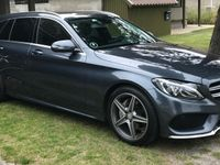 brugt Mercedes C220 2.1 170 HK AMG line