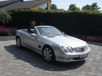 käytetty Mercedes SL500 5,0 306HK Cabr. Aut.