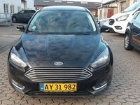 brugt Ford Focus 1,5 TDCi 120 Titanium stc. Van