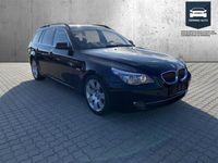 brugt BMW 525 d Touring 3,0 D 197HK Stc 6g Aut. - Personbil - Sort