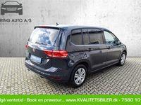 brugt VW Touran 1,6 TDI BMT SCR Trendline 115HK 6g - Personbil - grå - 7 pers.