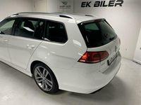 brugt VW Golf Variant 2,0 TDI BMT R-Line DSG 150HK Stc 6g Aut.