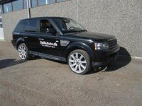 brugt Land Rover Range Rover Sport 5,0 V8 S/C 4x4 510HK Van 6g Aut.