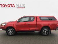 brugt Toyota HiLux Extra Cab 2,4 D-4D T3 Safety Sense 4x4 150HK Pick-Up D