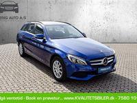 brugt Mercedes C220 d T 2,1 Bluetec 9G-Tronic 170HK Stc 9g Aut. - Personbil - blåmetal