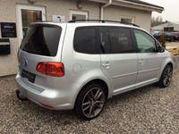 brugt VW Touran 2,0 TDi 140 Match DSG BMT 7prs