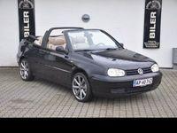 brugt VW Golf Cabriolet 1.6 5g 2d