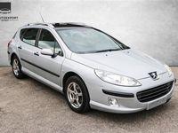 używany Peugeot 407 SW 1,6 HDI XR 109HK Stc - Personbil