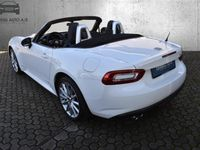 brugt Fiat 124 Spider 1,4 TwinAir Turbo Lusso 140HK Cabr. 6g - Personbil - Hvid