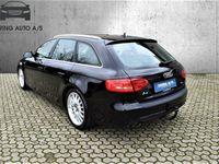 brugt Audi A4 2,0 TDI 177HK Stc - Personbil - sort