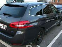 brugt Peugeot 308 1.6 BlueHDi 120 hk SW   Allure