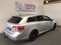 brugt Toyota Avensis 2,2 D-4D D-CAT T2 E-CVT 150HK Stc 6g Aut.