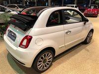 brugt Fiat 500C 1,2 Lusso 69HK Cabr.