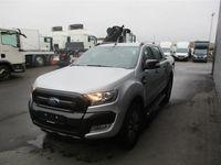 brugt Ford Ranger 3000kg 3,2 TDCi Wildtrak X 4x4 200HK DobKab 6g Aut. 2018