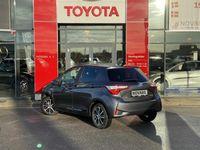 brugt Toyota Yaris Hybrid 1,5 B/EL Premium E-CVT 100HK 5d Trinl. Gear A+++