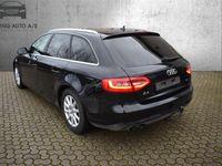 brugt Audi A4 2,0 TDI 136HK Van - Varebil - Sortmetal