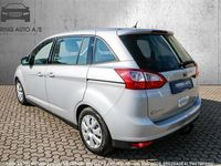 usado Ford Grand C-Max 1,6 TDCI 7p 115HK - Personbil - sølvmetal - 7 pers.