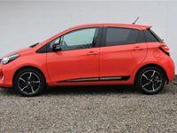 brugt Toyota Yaris 1,3 VVT-I Orange Edition 100HK 5d 6g