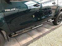 brugt Toyota HiLux Dobb.Kab. 2,4 D-4D Black Edition 4x4 150HK DobKab 6g Aut.