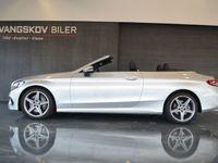 brugt Mercedes C300 2,0 AMG Line Cabriolet aut.