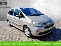 brugt Citroën Xsara Picasso 1,6 i 16V Advance 110HK - Personbil - champagnemetal