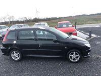 brugt Peugeot 206 1,4 HDi, stc. 70HK Stc