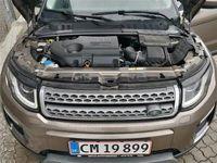 brugt Land Rover Range Rover evoque 2,0 TD4 SE 4x4 180HK 5d 6g