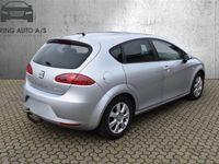 brugt Seat Leon 1,9 TDI PD DPF Ecomotive Reference 105HK 5d - Personbil - sølvmetal