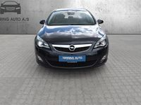 brugt Opel Astra Sports Tourer 1,7 CDTI DPF Enjoy 125HK Stc 6g - Personbil - Sort