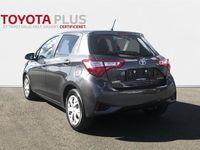 brugt Toyota Yaris Hybrid 1,5 B/EL E-CVT 100HK 5d Trinl. Gear A+++