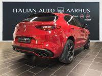brugt Alfa Romeo Stelvio 2,9 Bi-Turbo V6 Quadrifoglio 510HK 5d 8g Aut.