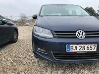brugt VW Sharan 2.0 177 HK Highline