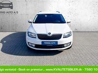 brugt Skoda Octavia Combi 2,0 TDI Style DSG 150HK Stc 6g Aut. - Personbil - hvid