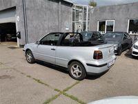 brugt VW Golf Cabriolet 1,6 Trendline 100HK