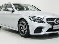 brugt Mercedes C220 d AMG Line stc. aut. 2019