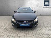 brugt Volvo V60 2,0 D3 Momentum 150HK Stc 6g - Personbil - Sortmetal
