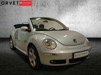 brugt VW Beetle New1,6 Trendline Cabriolet
