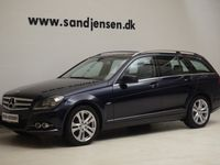 brugt Mercedes C200 2,2 CDi Avantgarde st.car aut. BE, 5d