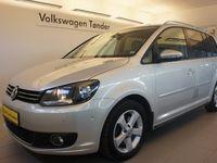 brugt VW Touran 2,0 TDi 170 Highline DSG Van