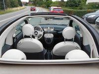 brugt Fiat 500C 1,2 Lounge 69HK Cabr.